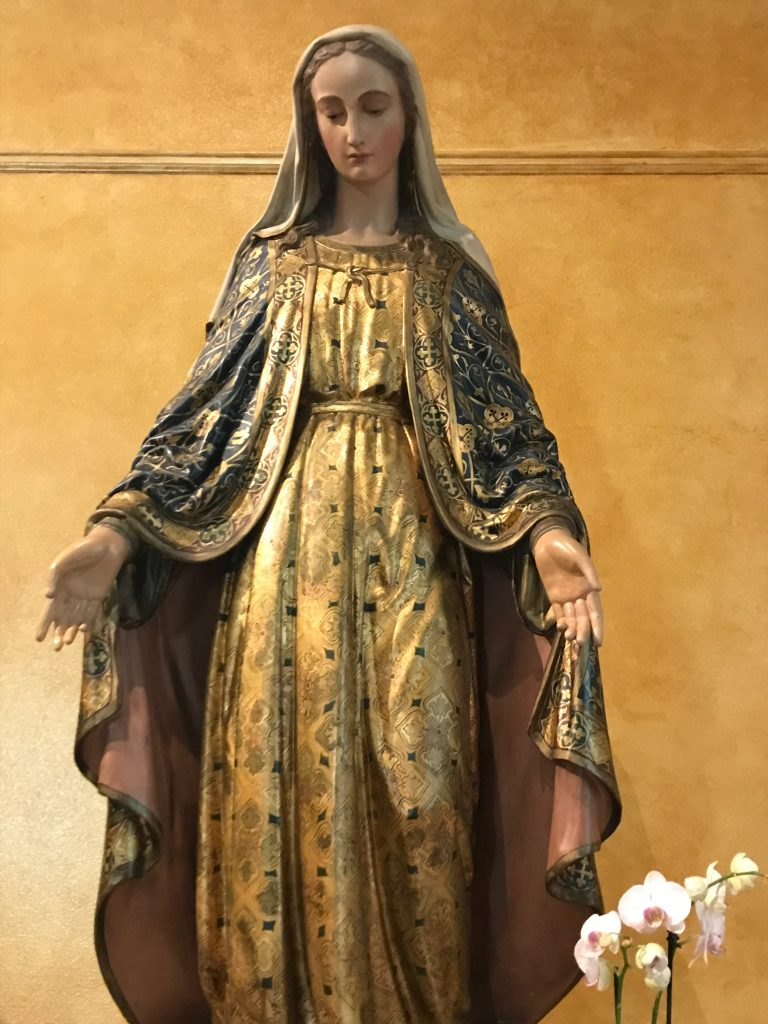 Our Lady of Seattle Statue in St. James Cathedral